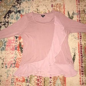 Lane Bryant 3/4 length flowy blouse